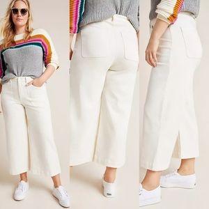🆕 Anthropologie wide leg pants size 14/16W